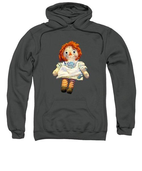 Raggedy Ann Doll Sweatshirt