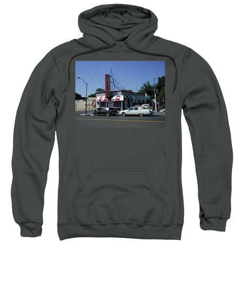 Sweatshirt featuring the photograph Raifords Disco Memphis A by Mark Czerniec