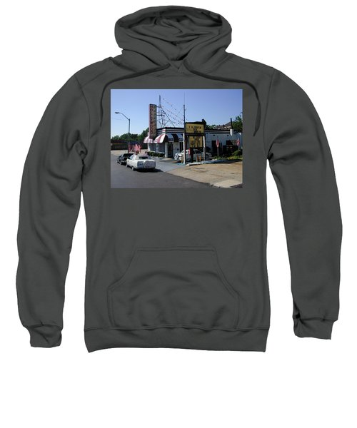 Sweatshirt featuring the photograph Raifords Disco Memphis B by Mark Czerniec