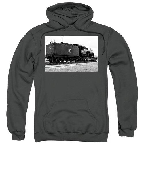 Railway Engine In Frisco Sweatshirt
