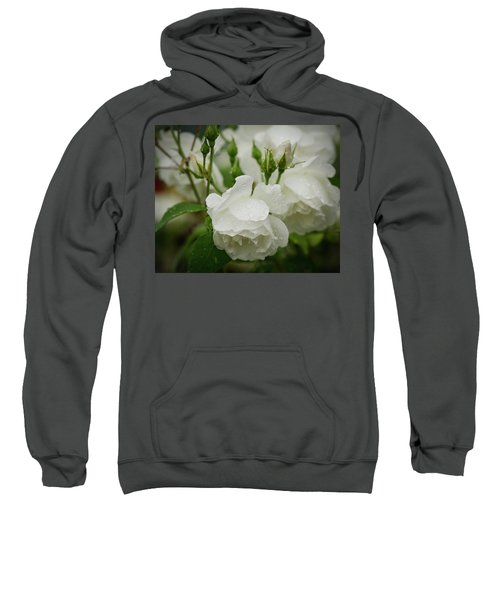 Rain Drops In Our Garden Sweatshirt