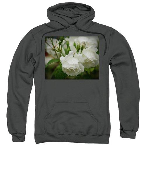 Rain Drops In Our Garden Sweatshirt