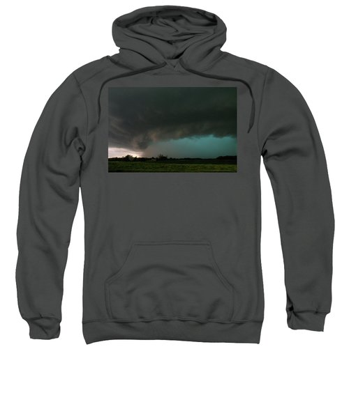 Rain-wrapped Tornado Sweatshirt