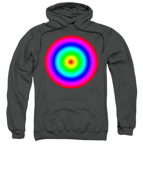 Rainbow Circles Sweatshirt