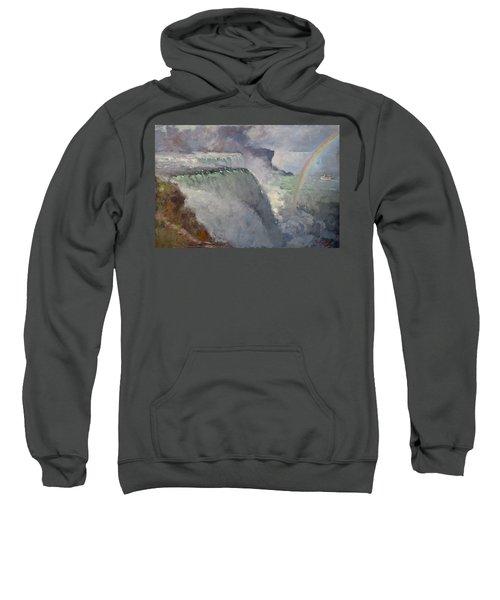 Rainbow Over The Falls Sweatshirt