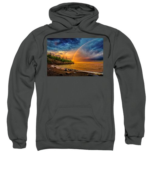 Rainbow Point Sweatshirt