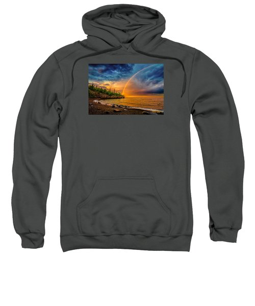 Rainbow Point Sweatshirt