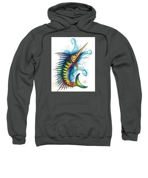 Rainbow Sailfish Sweatshirt