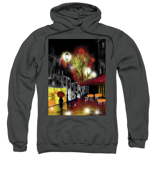 Raining And Color Sweatshirt