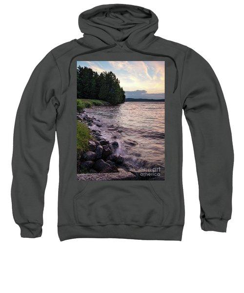 Rangeley Lake State Park In Rangeley Maine  -53215-53218 Sweatshirt
