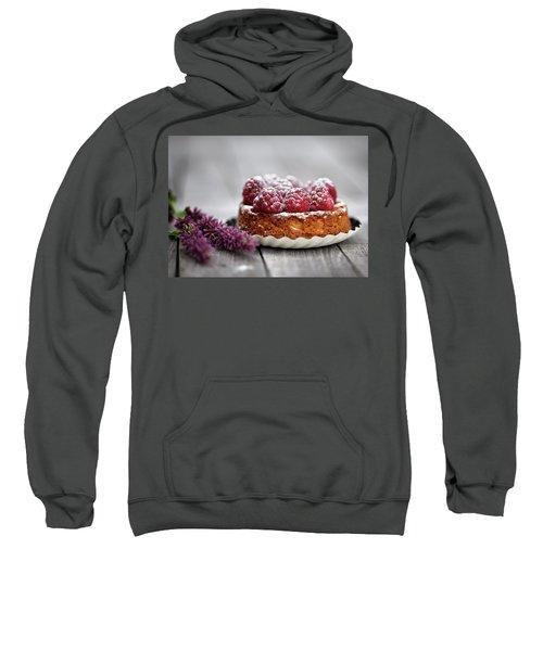 Raspberry Tarte Sweatshirt by Nailia Schwarz