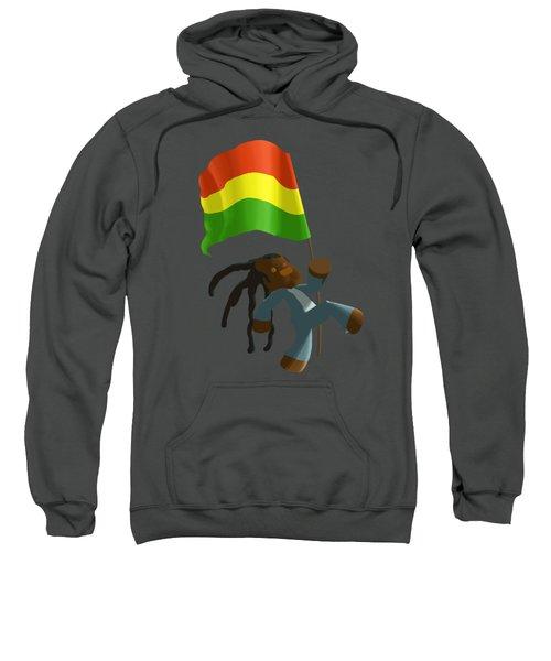 Rasta Flag Bear Sweatshirt