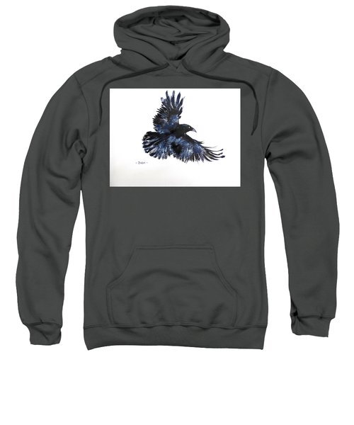 Raven In Flight Sweatshirt