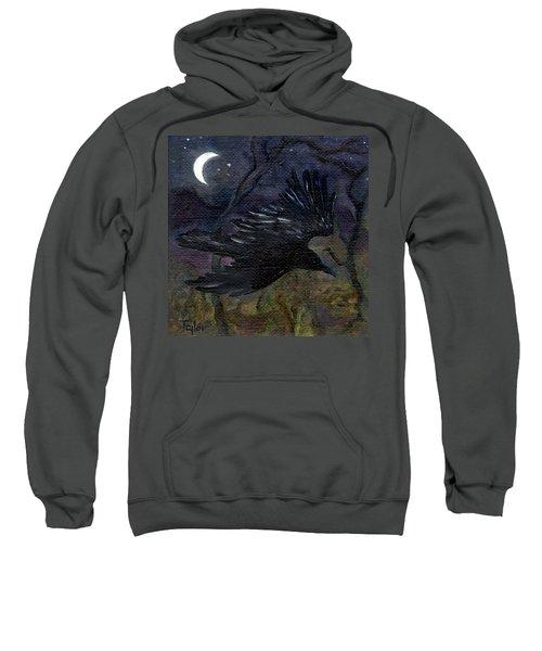 Raven In Stars Sweatshirt