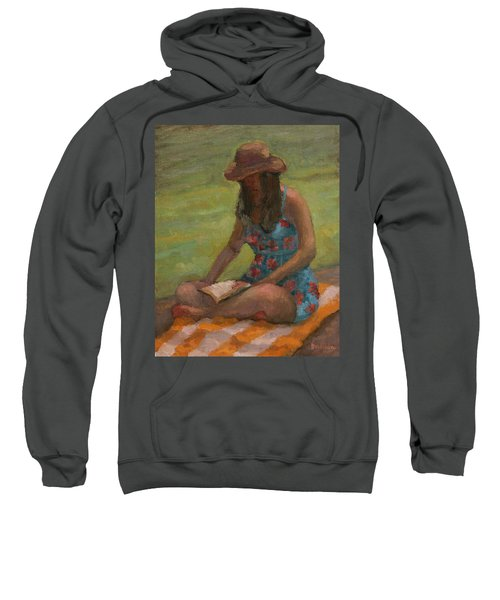 Reading At Jersey Valley Sweatshirt