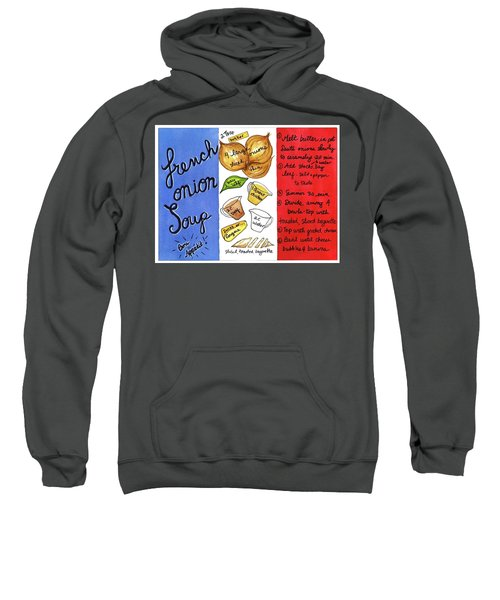 Recipe French Onion Soup Sweatshirt