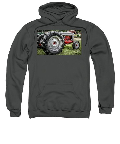 Red And White Ford Model 600 Tractor Sweatshirt