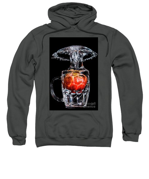 Red Apple Splash Sweatshirt