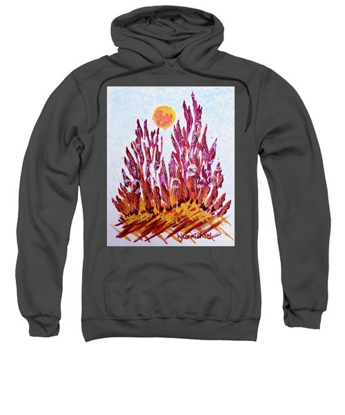 Red Beauties In The Garden Sweatshirt