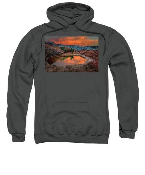 Red Canyon Reflection Sweatshirt