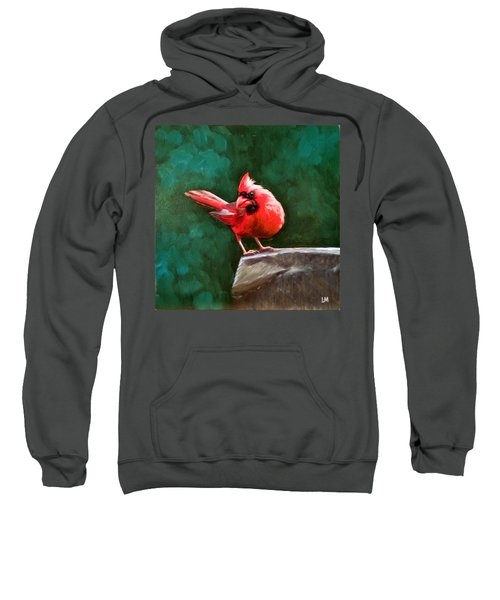 Red Cardinal Sweatshirt