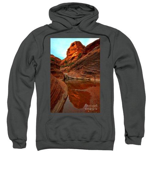 Red Cliffs Reflections Sweatshirt