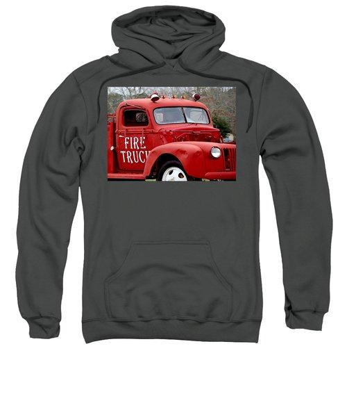 Red Fire Truck Sweatshirt