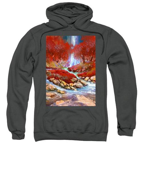 Red Forest Sweatshirt