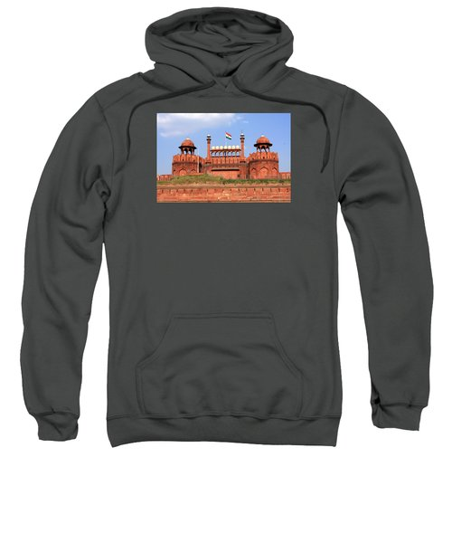 Red Fort New Delhi Sweatshirt