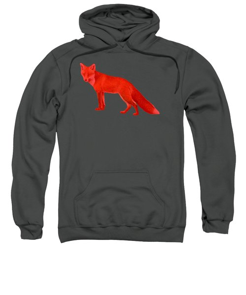 Red Fox Forest Sweatshirt
