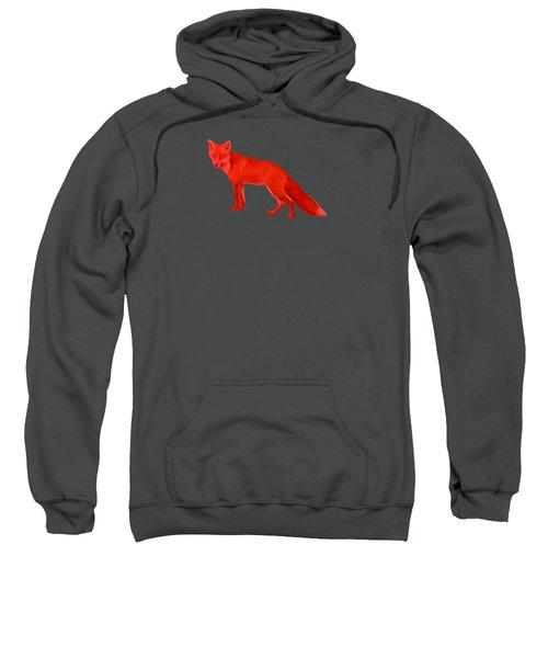 Red Fox Forest Sweatshirt