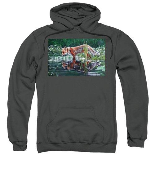 Red Fox Reflecting Sweatshirt
