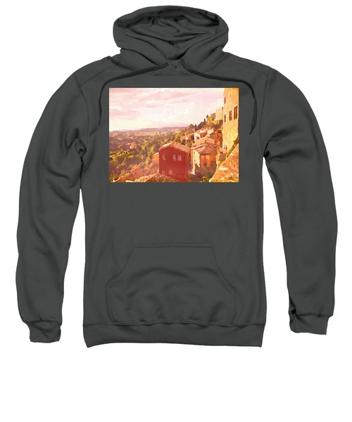 Red House On A Hill Sweatshirt