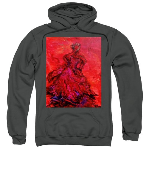 Red Lady Sweatshirt