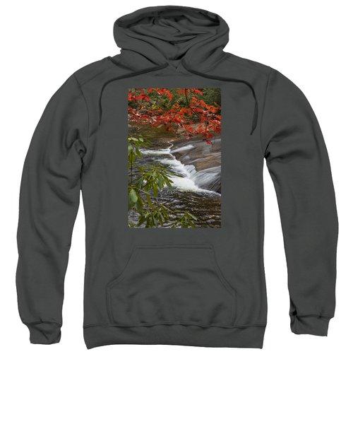 Red Leaf Falls Sweatshirt