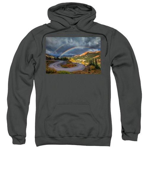 Red Mountain Rainbow Sweatshirt