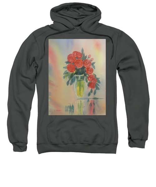 Red Roses For My Valentine Sweatshirt