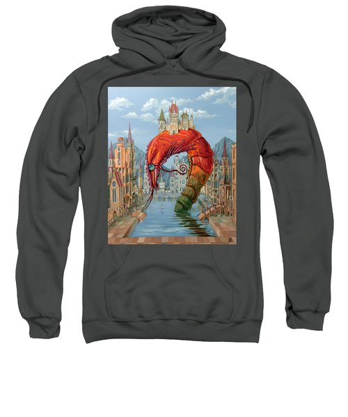 Red Shrimp Sweatshirt