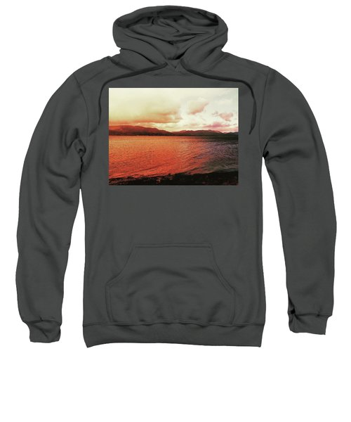 Red Sky After Storms  Sweatshirt