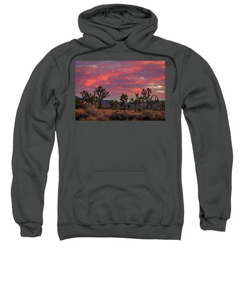 Red Sky Over Joshua Tree Sweatshirt