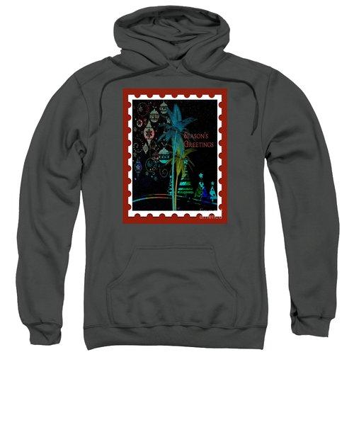 Red Stamp Sweatshirt