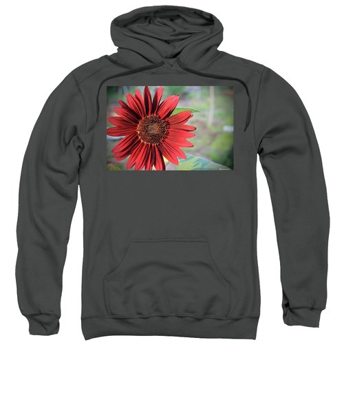 Red Sunflower Sweatshirt