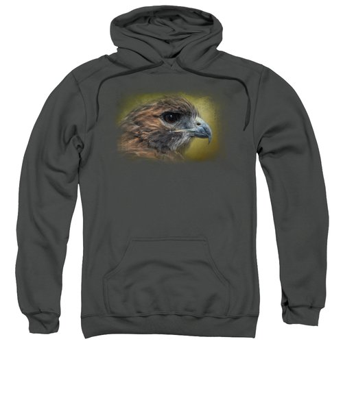Red Tailed Hawk At Reelfoot Sweatshirt by Jai Johnson