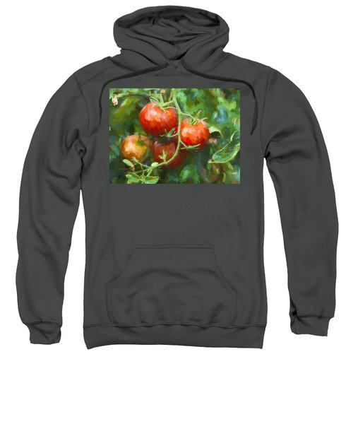 Red Tomatoes  Sweatshirt