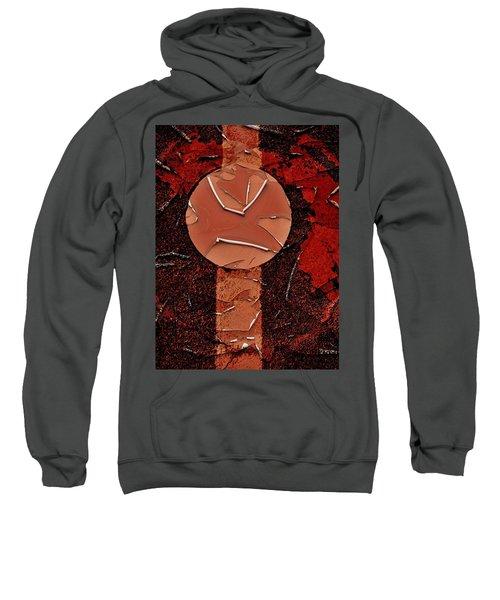 Red Totem With Headdress Sweatshirt