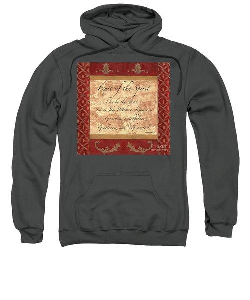 Red Traditional Fruit Of The Spirit Sweatshirt