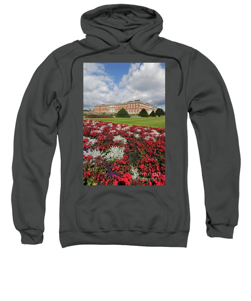 Red White And Blue At Hampton Court Sweatshirt