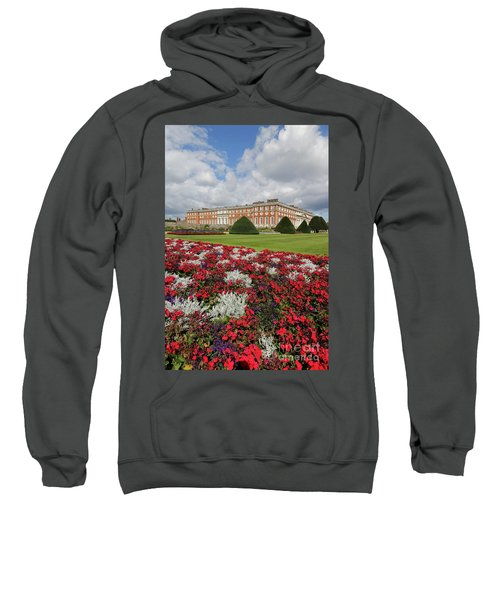 Red White And Blue At Hampton Court Sweatshirt