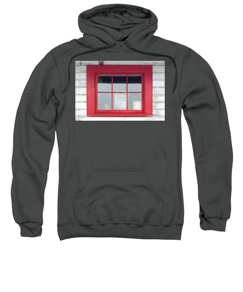 Red Window Sweatshirt