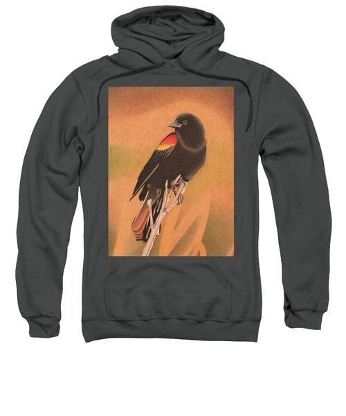 Red-winged Blackbird 3 Sweatshirt